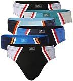6 pack Mens Cotton Briefs, Underwear 100% Cotton