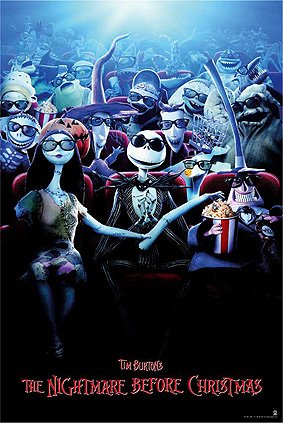 Movies Posters: The Nightmare Before Christmas - The Nightmare Before Christmas - (Animated Christmas Decor)