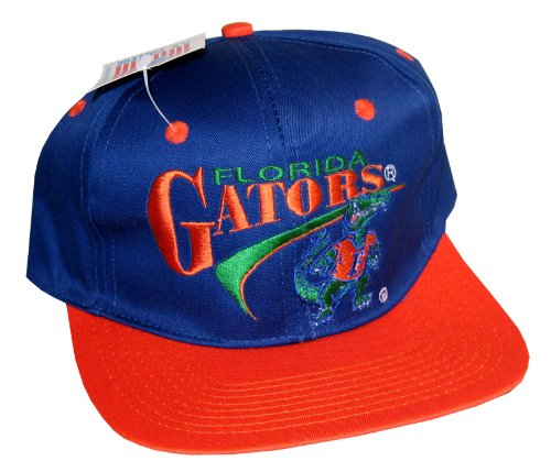 (Vintage Snapback Cap Drew Pearson NOS Florida Gators)