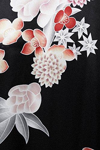 ArtiDeco - Vestaglia -  donna black flower