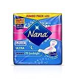 Nana Ultra Normal Goodnight - Serviette hygiénique pour la nuit - lot de 3...