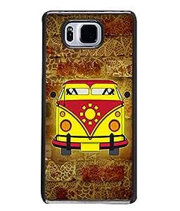 PrintVisa Designer Back Case Cover for Samsung Galaxy Alpha :: Samsung Galaxy Alpha S801 :: Samsung Galaxy Alpha G850F G850T G850M G850Fq G850Y G850A G850W G8508S :: Samsung Galaxy Alfa (Love Lovely Attitude Men Man Manly)