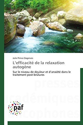 L efficacité de la relaxation autogène