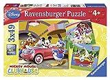 Ravensburger 09247 - Tout le monde aime Mickey - 3 x 49 Pièces