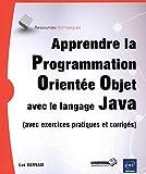 Telecharger Livres Apprendre la Programmation Orientee Objet avec le langage Java (PDF,EPUB,MOBI) gratuits en Francaise