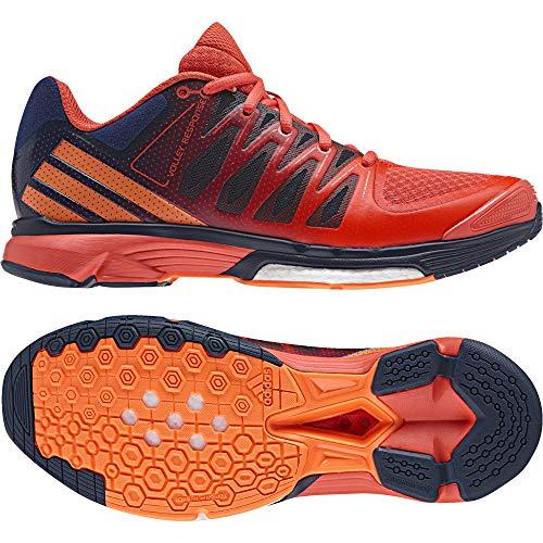 adidas Damen Volley Response 2 Boost W Volleyballschuhe, Blau (Azumis/narbri/corsen), 39.5 EU - Adidas Volleyball Schuhe