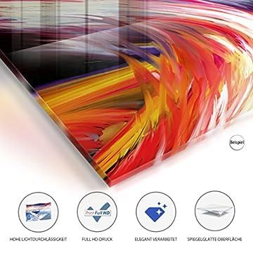 murando Cuadro de cristal acrílico 200x100 cm 5 Partes - 2 tamanos opcionales - Cuadro de acrílico TOP Cuadro - Impresion en calidad fotografica – Buda h-C-0034-k-m 200x100 cm 4