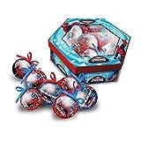 Cofanetto di 7 palline di Natale Disney Uomo Ragno