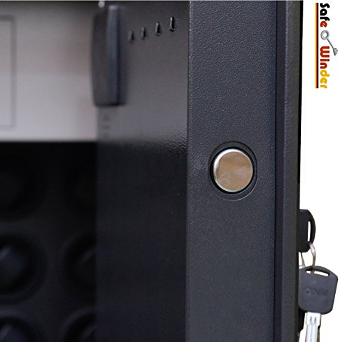 Safewinder® 18 DELUXE BLACK Uhrenbeweger & Safe - 5