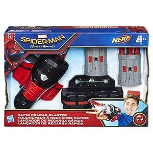 Marvel - Figura de Spiderman, Armadura Lanza Redes (Hasbro B9702EU4)