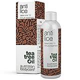 Australian Bodycare Anti Lice – Einfache und Einmalige 15 Min. Kopfläusebehandlung mit Teebaumöl von höchster Qualität & Dimeticon Mittel gegen Läuse. Kur gegen Kopfläuse und Nissen. Auch für Kinder