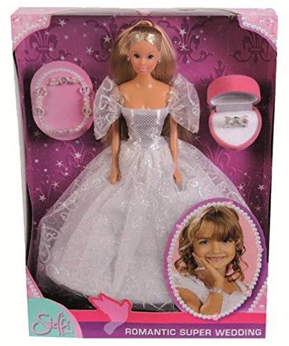 Simba 105738979 - Steffi Love Puppe im romantischen Hochzeitskleid