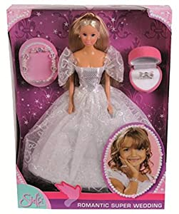 Simba Steffi Love 105738979 Romantic Superwedding - Muñeca con vestido de novia y accesorios importado de Alemania