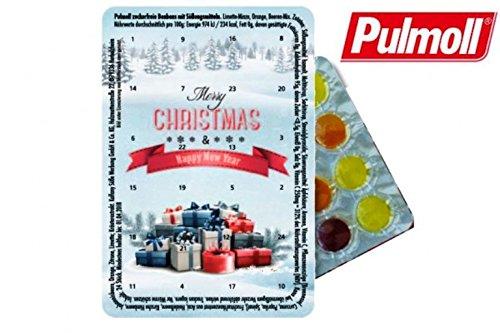 Preisvergleich Produktbild Kleinster Adventskalender der Welt Der kleinste Adventskalender der Welt mit Pulmoll,  Kalender Weihnachtskalender