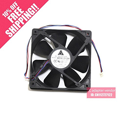 KTC Computer Technology Delta WFB1212H 12025 server dual ball bearing cooling fan 12V 0.45A 12CM