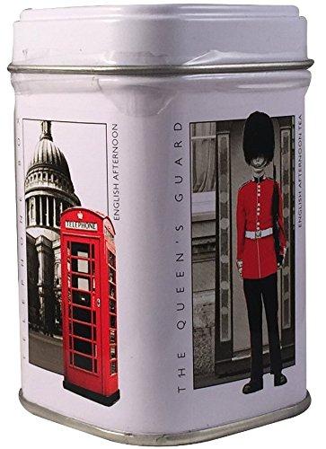 Ahmad Tea- Sammlerdose 'London History' Kleine Dose zum Sammeln und weiter Aufbewahrung, als Eng. Afternoon Loser Schwarztee