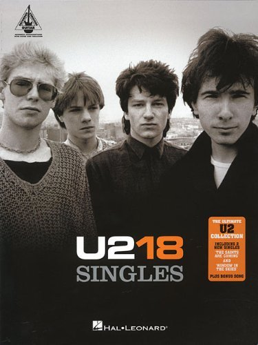 U2: 18 Singles (Guitar Recorded Versions) by Hal Leonard Publishing Corporation (Corporate Author) (1-Apr-2007) Paperback