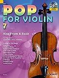 Pop for Violin: Kiss From A Rose. Band 7. 1-2 Violinen. Ausgabe mit CD. - Michael Zlanabitnig