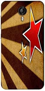 Snoogg Star Fan Art Designer Protective Back Case Cover For Micromax Canvas Nitro 3 E455