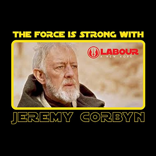 Star Wars Obi Wan Kenobi Jeremy Corbyn Men's Vest Black