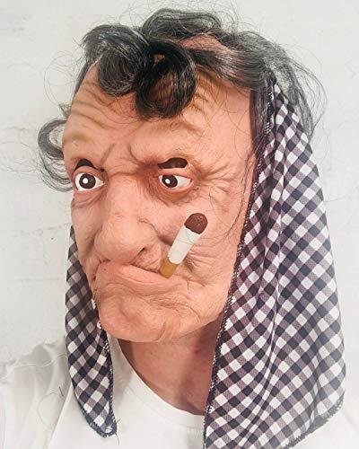 Oma Latex Maske für Erwachsene Film FX Qualität Kostüm Maske (Qualitäts Erwachsene Kostüme)