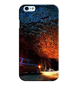 Blue Throat Car In Jungle Printed Designer Back Cover/ Case For Apple iPhone 6s Plus