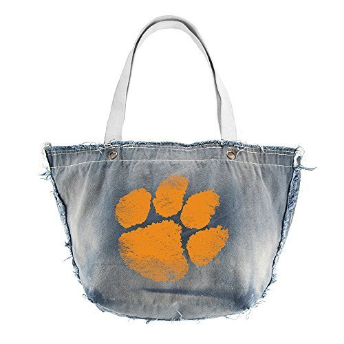 ncaa-clemson-tigers-vintage-tote-blue-by-littlearth