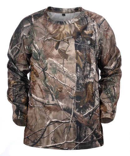 Lucky Bums Kid 's Long Sleeve Performance XS Realtree APHD (Jagd-jacken Wasservögel)
