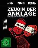 Zeugin der Anklage - Mediabook (+ Original Kinoplakat) [Blu-ray] [Limited Edition]