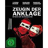 Zeugin der Anklage - Mediabook (+ Original Kinoplakat) [Blu-ray]
