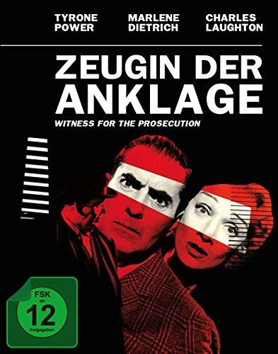 Bild von Zeugin der Anklage - Mediabook (+ Original Kinoplakat) [Blu-ray] [Limited Edition]