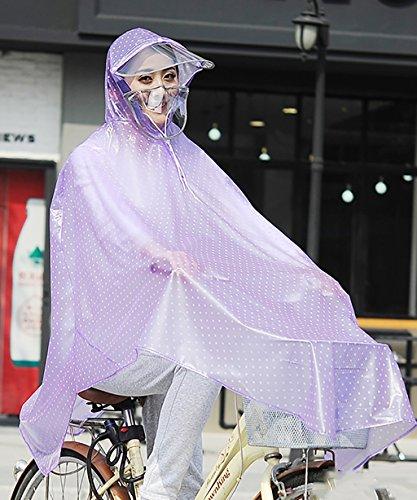 LHP Regenponcho Reiten wasserdicht Regenmantel Elektro Auto Fahrrad Big Hat Poncho Männer und Frauen ( Farbe : 4# , größe : XXXL ) 4#