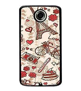 ifasho Designer Phone Back Case Cover Motorola Nexus 6 :: Motorola Nexus X :: Motorola Moto X Pro :: Google Nexus 6 ( Red checks Pattern Design )