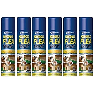 6 PACK – 200ml Flea Spray / Home Animal Cats Dogs Kills Fleas Tick Protection – By PAJEE TM 51a 2BKGqQCvL
