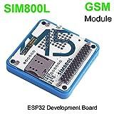 MakerHawk M5Stack ESP32 Entwicklungsboard GSM/GPRS SIM800L Modul Stackable IoT mit Mic, Antenne und 3,5 mm Kopfhörerbuchse für ESP32 Arduino Development Board