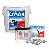 SET Chlorgranulat 5,0 kg + Pooltester Ch/pH