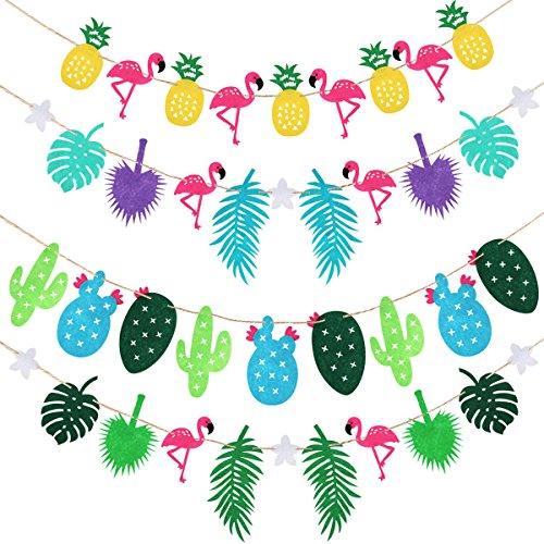 Décoration Guirlande – anniversaire plage tropicale