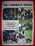New England Patriots 34Atlanta Falcons 28–Super Bowl Li (51)–2017–Souvenir Print