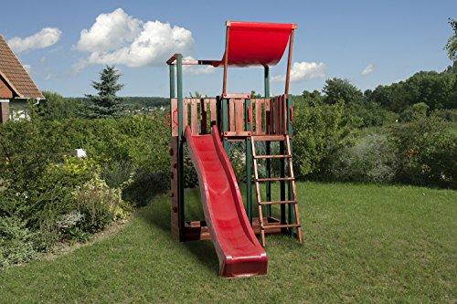 Weka Kinderspielturm 816 B inkl. Rutsche