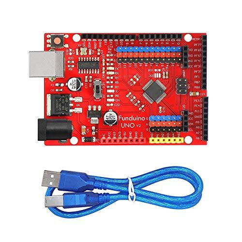 KEYES Open-Source-LGT8F328P UNO V2 Steuerkarte kompatibel mit Arduinos for UNO R3 Entwicklungsrat ATmega328P