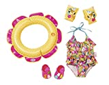 Zapf Creation 825891 Baby Born Schwimmspaß Set, bunt