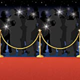 50ft Hollywood Red Carpet Scene Setter at the Oscars Celebrity Paparazzi Premiere Party Decoration