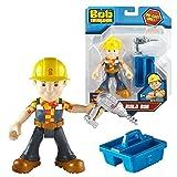 Bob der Baumeister - Figuren Set - Spielfigur Bob mit Werkzeugkasten