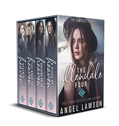 The Allendale Four (Complete Series Books 1-4): High School Bully Romance (English Edition)