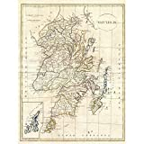 Doppelganger33 LTD 1799 Clement Cruttwell Map Scotland