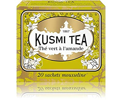 Kusmi Tea - Thé vert à l'amande - Boîte 20 sachets