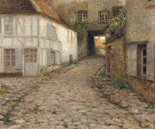 Das Museum Outlet-Village Häuser, Gerberoy, 1903, gespannte Leinwand Galerie verpackt. 29,7x 41,9cm