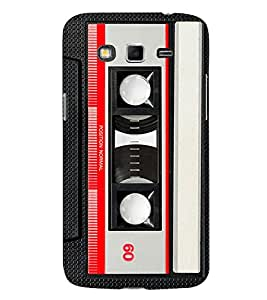 Cassette Player 3D Hard Polycarbonate Designer Back Case Cover for Samsung Galaxy Grand 2 G7102 :: Samsung Galaxy Grand 2 G7106