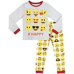 Emoji - Pijama para niñas - Emoji - 7 a 8 Años