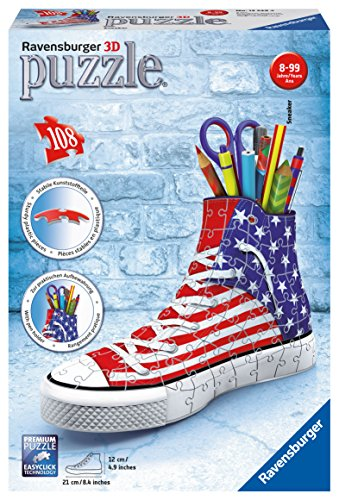 Ravensburger-12549-3D-Puzzle-Sneaker-American-Style